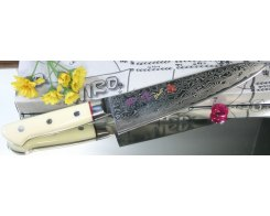 Поварской нож Hiro-Shiki SKC-5 Gyuto Damascus Premium