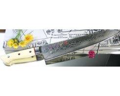Поварской нож Hiro-Shiki SKC-6 Gyuto Damascus Premium