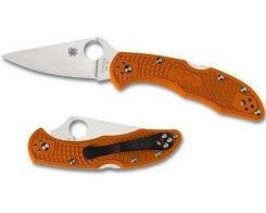 Складной нож Spyderco Delica 4 Orange SC11FPOR