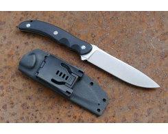 Туристический нож Steelclaw Бастион bastion black