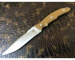 Туристический нож Steelclaw Каскад brown