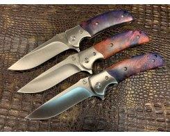 Складной нож Steelclaw Резервист MAR05-3, стабилизированный кап клёна