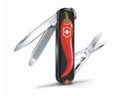 "Швейцарский нож Victorinox Classic SD ""Chili Peppers"" 0.6223.L1904, 7 функций"