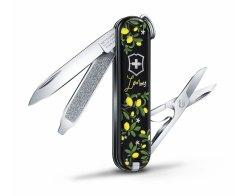 "Швейцарский нож Victorinox Classic SD ""When Life Gives You Lemons"" 0.6223.L1905, 7 функций"