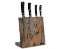 Подставка для ножей магнитная Woodinhome KS002LSAB 25х26х12,5 см.