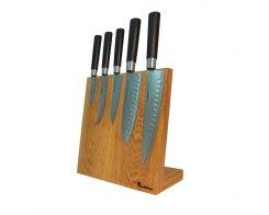 Подставка под ножи магнитная Woodinhome KS002LSON 25х26х12,5 см.