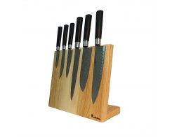 Магнитная подставка для ножей Woodinhome KS002XSAN 30х26х12,5 см.