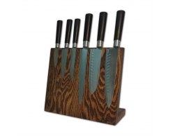 Магнитная подставка для ножей Woodinhome KS002XSOB 30х26х12,5 см.