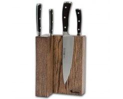 Магнитная подставка для ножей Woodinhome KS009SAB 17,5х24х12,5 см.