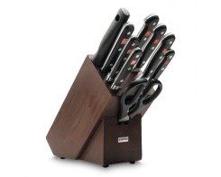 Набор ножей 9 предметов в подставке Wuesthof 9843 Classic